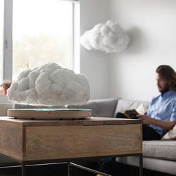 采用磁悬浮技术的云朵造型蓝牙音箱设计