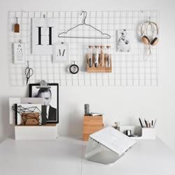 小资情调:6种简单又有创意的墙面收纳DIY