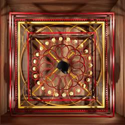 Hermès的立体世界 原木雕刻成的绝美橱窗陈列