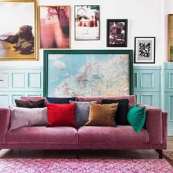 租房也要追求品味:5种可拆除的家居装饰方法