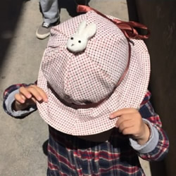 自制儿童布艺帽子的方法图解 可遮阳也能挡风