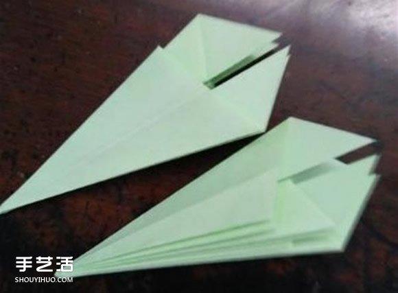 立体小雨伞的折法图解 儿童纸雨伞制作方法