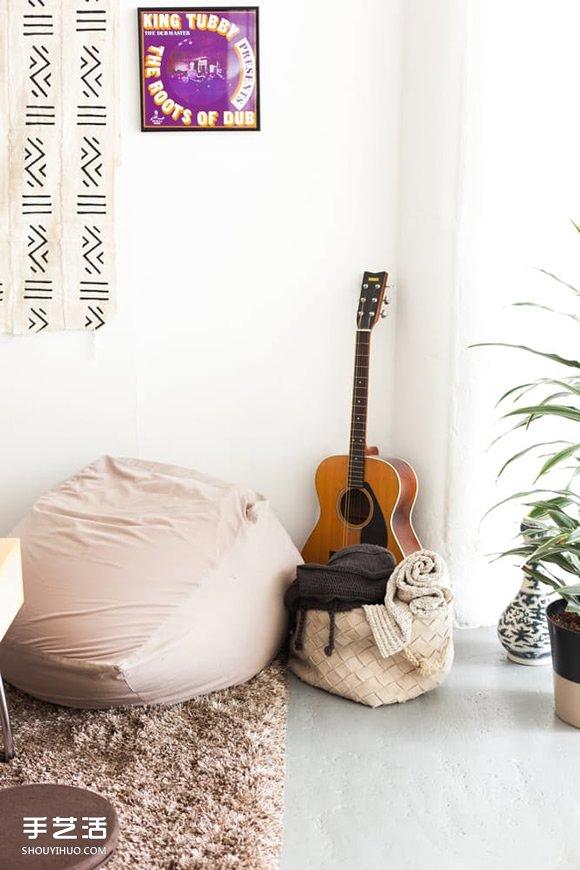 極簡留白 打造迷人無牆空間的家居設計