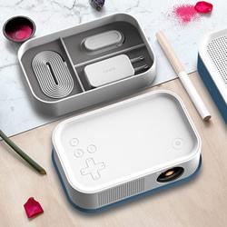 今天的便当不能吃 野餐必备的便携投影机设计