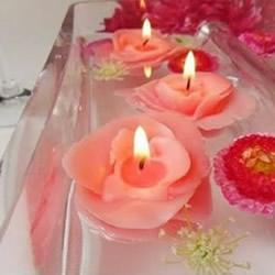 自制玫瑰花蜡烛的方法 手工蜡烛玫瑰DIY教程