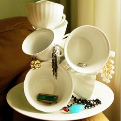 破损茶杯改造利用图片 旧茶杯废物利用DIY方法