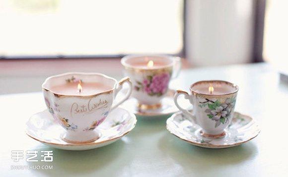 破损茶杯改造利用图片 旧茶杯废物利用DIY方法 -  www.shouyihuo.com
