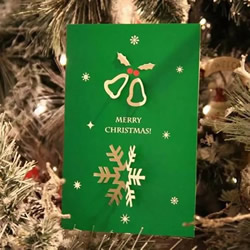 创意手工贺卡图片大全 漂亮圣诞贺卡素材图片