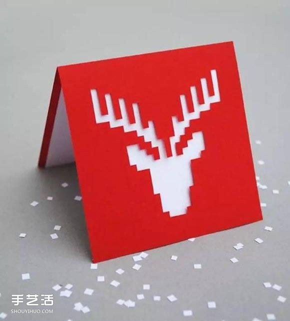 創意手工賀卡圖片大全 漂亮聖誕賀卡素材圖片