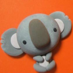 超轻粘土树袋熊DIY 手工超轻粘土制作考拉