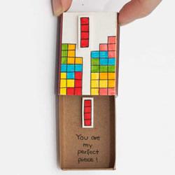 这种告白你一定没见过 火柴盒制作的表白卡片