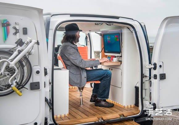 办公室工作太闷?开环保电动车兜风加办公吧 -  www.shouyihuo.com