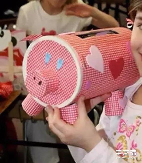 儿童纸箱手工制作图片
