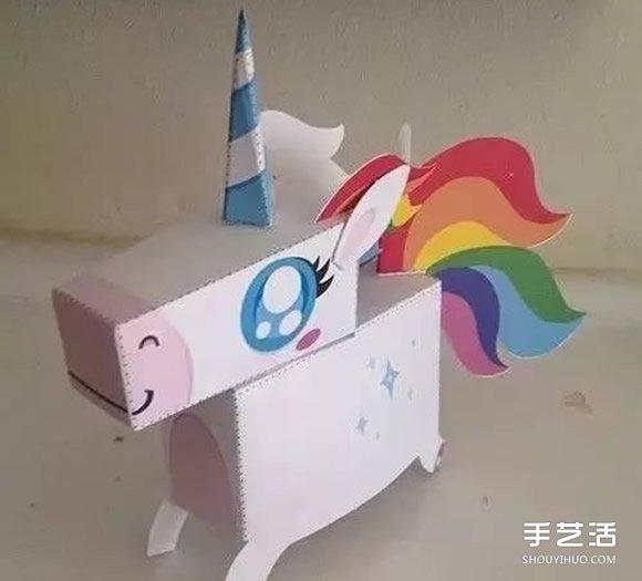 儿童纸箱手工制作图片 好玩的幼儿瓦楞纸diy