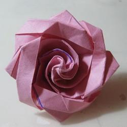 冰淇淋玫瑰的折法图解 手工折冰淇淋玫瑰步骤