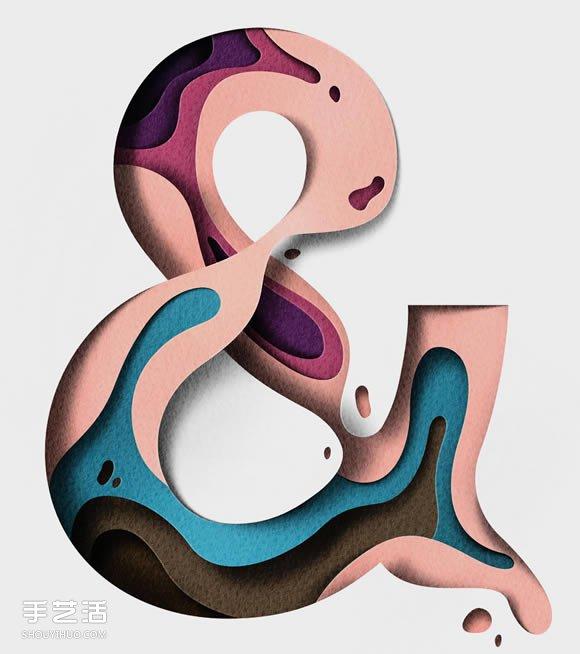 利用層次和光影效果 打造夢幻般的紙雕作品