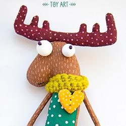 搞怪的动物布偶图片 夸张造型布艺玩偶作品