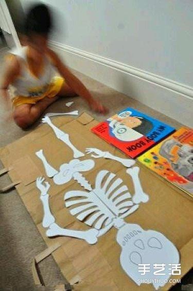 幼儿园玩教具制作:教小朋友认知身体主要器官 -  www.shouyihuo.com
