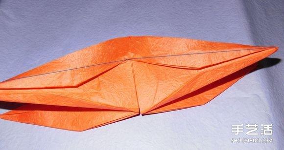 手工纸帆船的折法图解 折纸帆船的方法步骤图图片