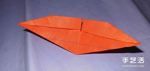 手工纸帆船的折法图解 折纸帆船的方法步骤图