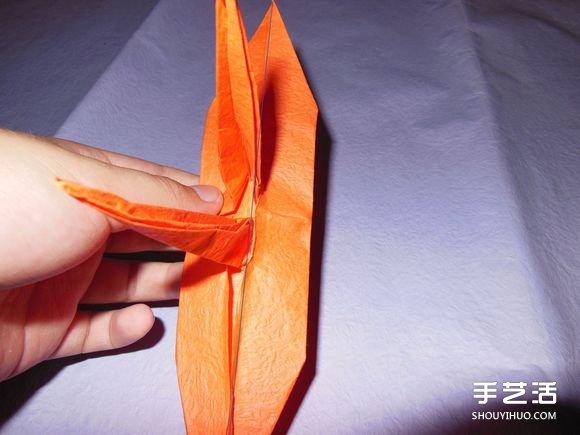 a4折纸船大全 图解_手工纸帆船的折法图解 折纸帆船的方法步骤图(2)_手艺活网