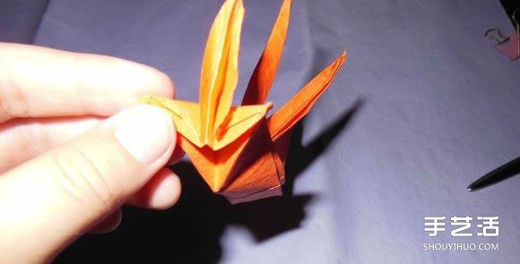 手工纸帆船的折法图解 折纸帆船的方法步骤图(2)