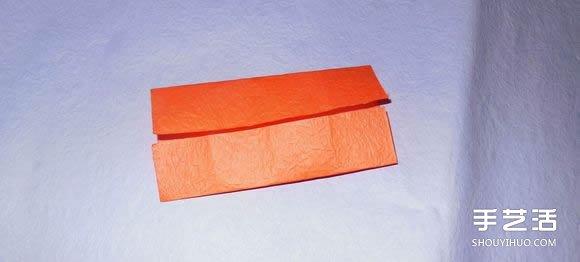 手工纸帆船的折法图解