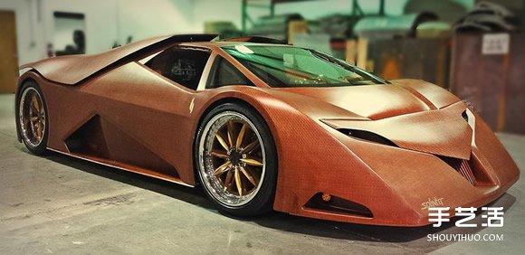 极速386公里!媲美艺术品的木制超级跑车 -  www.shouyihuo.com
