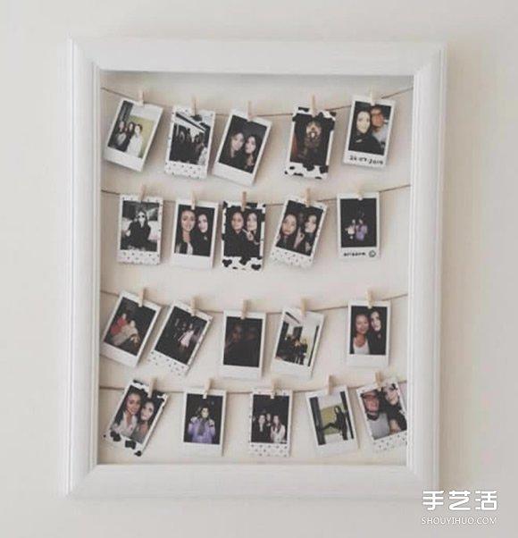 8种相框DIY创意 圈住你生活中的每片风景 -  www.shouyihuo.com