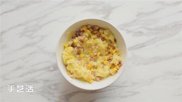 溫暖用心的幸福料理 培根薯泥釀雞翅膀的做法