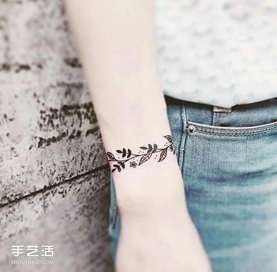 细腻清新的手腕纹身 美到不需要再买手环!图片
