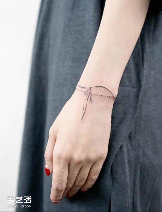 女性时尚 美容护肤 纹身图案