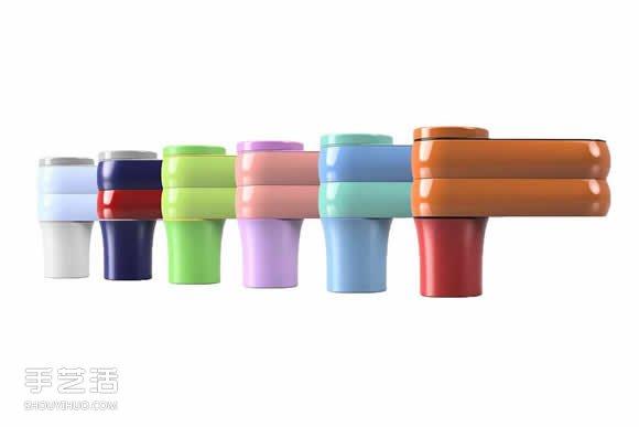 创意汽车饮料架设计 除了饮料还可以放零食 -  www.shouyihuo.com