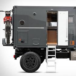 荷兰 Bliss Mobil 军用级货柜露营车设计