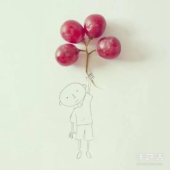 生活中的小创意DIY图片 简单手绘的神奇魔法图片