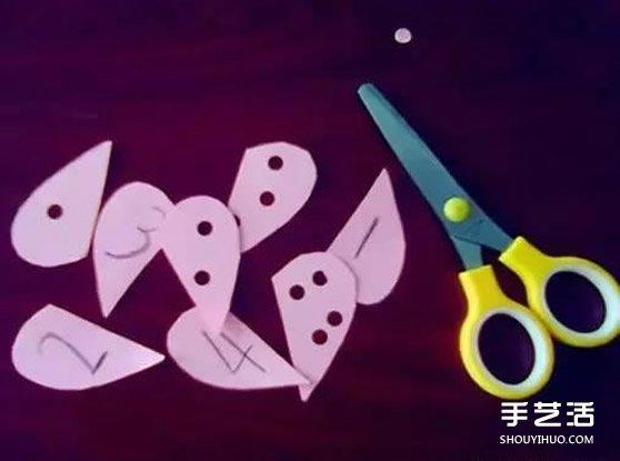 简单幼儿园玩教具制作 让孩子玩数字小游戏 -  www.shouyihuo.com