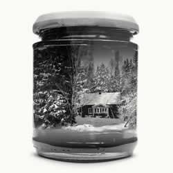 利用重复曝光 将怀念的家乡景色收进玻璃瓶中