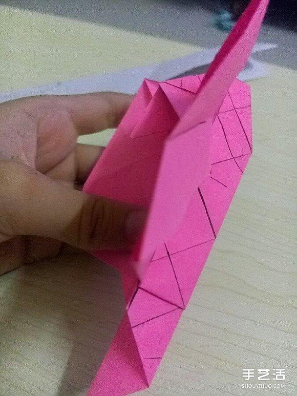 小松英夫的马折纸图解 超详细立体马的折法教程(2)