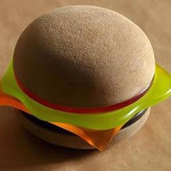 可爱又可口?充满美式风格的汉堡灯概念设计