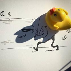 光线真的很重要!活在阴影里的创意涂鸦DIY