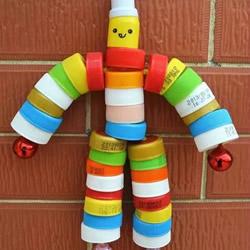 儿童瓶盖手工制作图片 简单瓶盖小制作创意