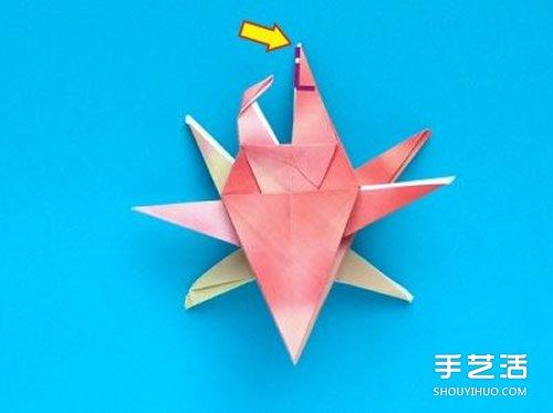 折纸螃蟹的步骤图解 复杂螃蟹折纸图解教程