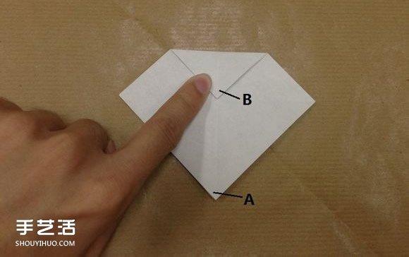 小动物折纸步骤图 用纸折小动物的方法图解