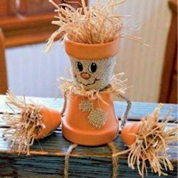 适合秋天的手工制作 幼儿秋天手工作品图片