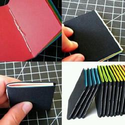 DIY手工制作本子图解 常见小本子制作教程