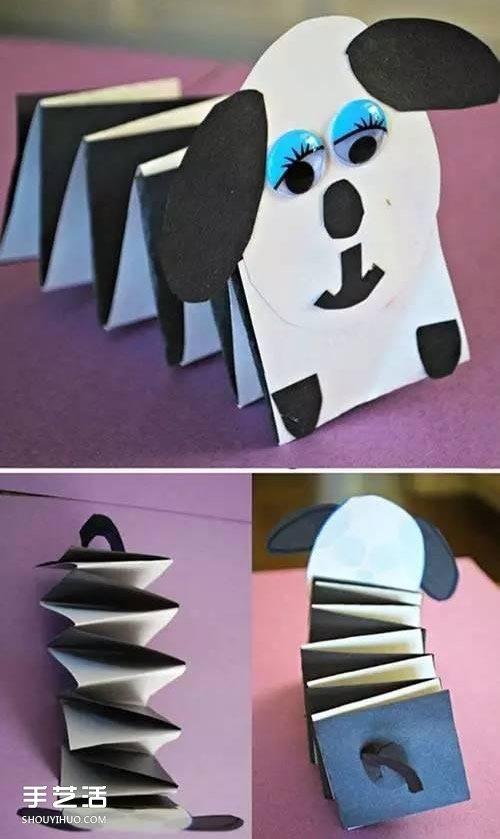 幼儿卡纸小制造图片 简略卡纸手艺制造大全 -  www.shouyihuo.com