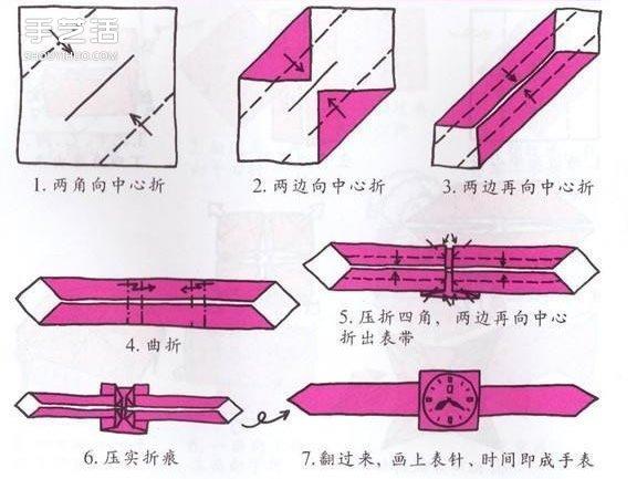 10个儿童手工折纸图解 简单幼儿折纸教程大全