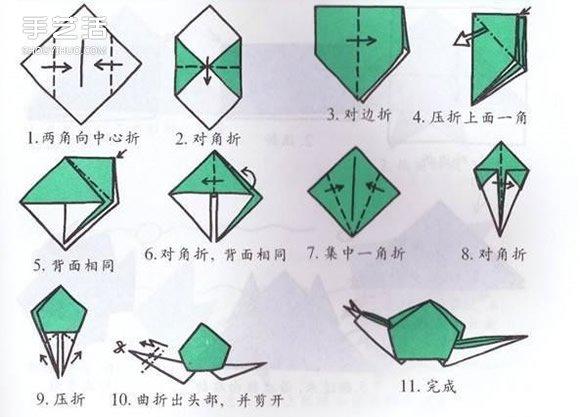 小朋友们已经学习过哪些折纸呢?飞机、纸船、东南西北?一张平面的纸随着手指的动作,如魔法般变成我们想要的东东,不仅非常具有趣味性,还可以锻炼思维能力呢!下面跟小朋友们分享10个简单又有趣的折纸手工,看看哪些还不会的来学习下吧~~~ 1.纸杯的折法