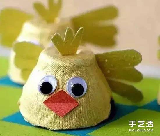 蛋托手工制作大全图片 幼儿园蛋托diy小制作