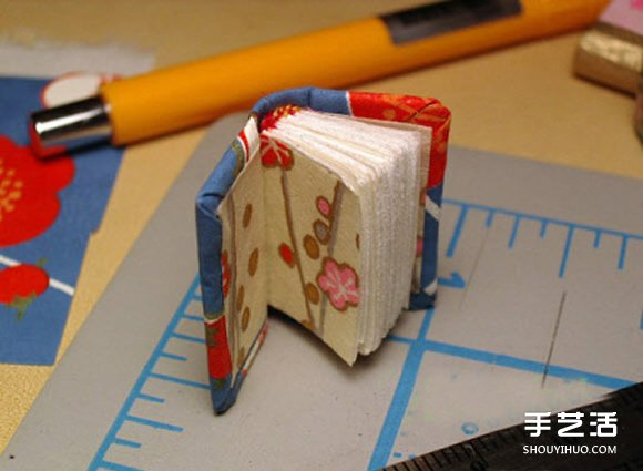 自制迷你本子DIY图解 可爱小本子的做法教程
